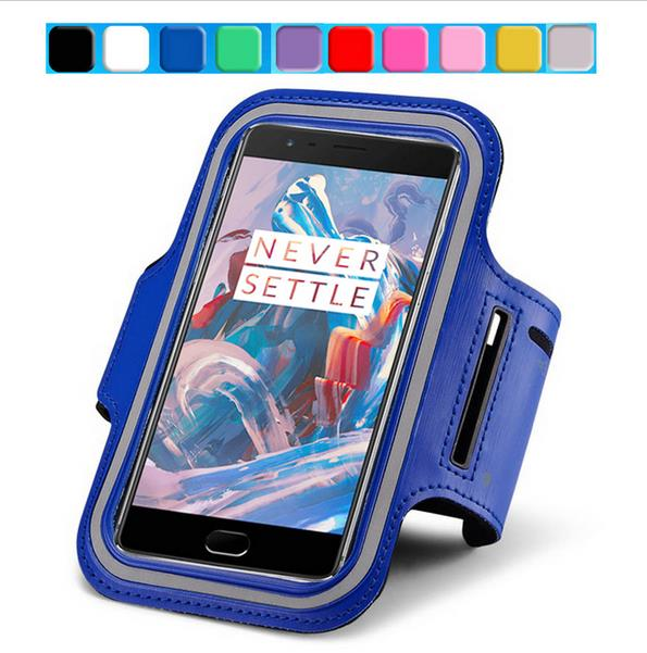 super popular 906fc 7f091 Oneplus 5T case Waterproof Sport Running Arm Band bag For Oneplus 5T A5010  Oneplus 6 5 3T X 2 Gym Leather back Cover phone bags