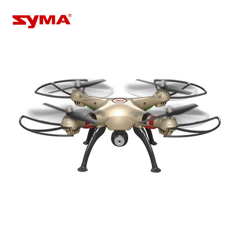 Hot sales Syma X8HW Aircraft RC Quadrocopter 2.4G 4CH 6-Axis Remote Control 720P WiFi FPV HD Camera little drone syma x5hw rc helicopter 2 4ghz 4ch 6 axis gyro aircraft drone with 0 3mp fpv wifi camera remote control quadcopter gift toys