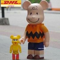 27 Bearbrick мрачно 1000% Be @ rbrick BB Basic Виниловая фигурка Коллекционная модель игрушки 70 см D390
