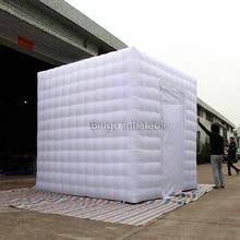 Белый цвет 3X3X3 метра надувные photo booth индивидуальные airblown photo booth игрушка палатка