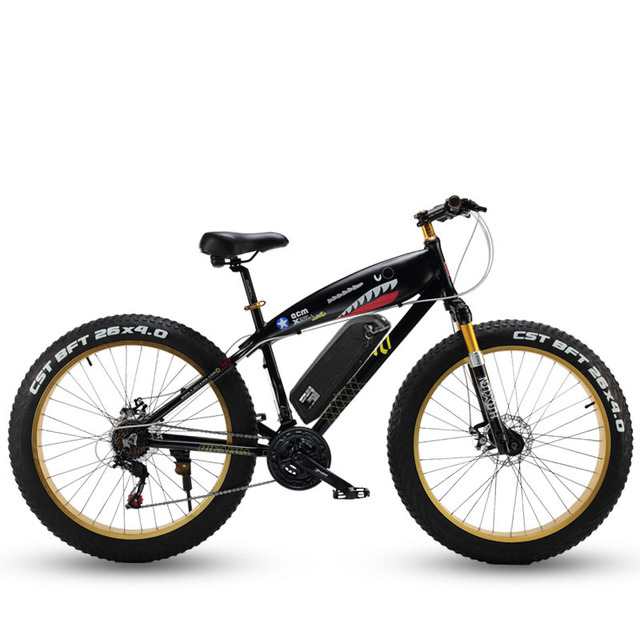 26inch electric mountain bicycle 70km/h Electronic  Electric Bike  snow  48V lithium battery 1500w motor fat ebike 4.0 tires