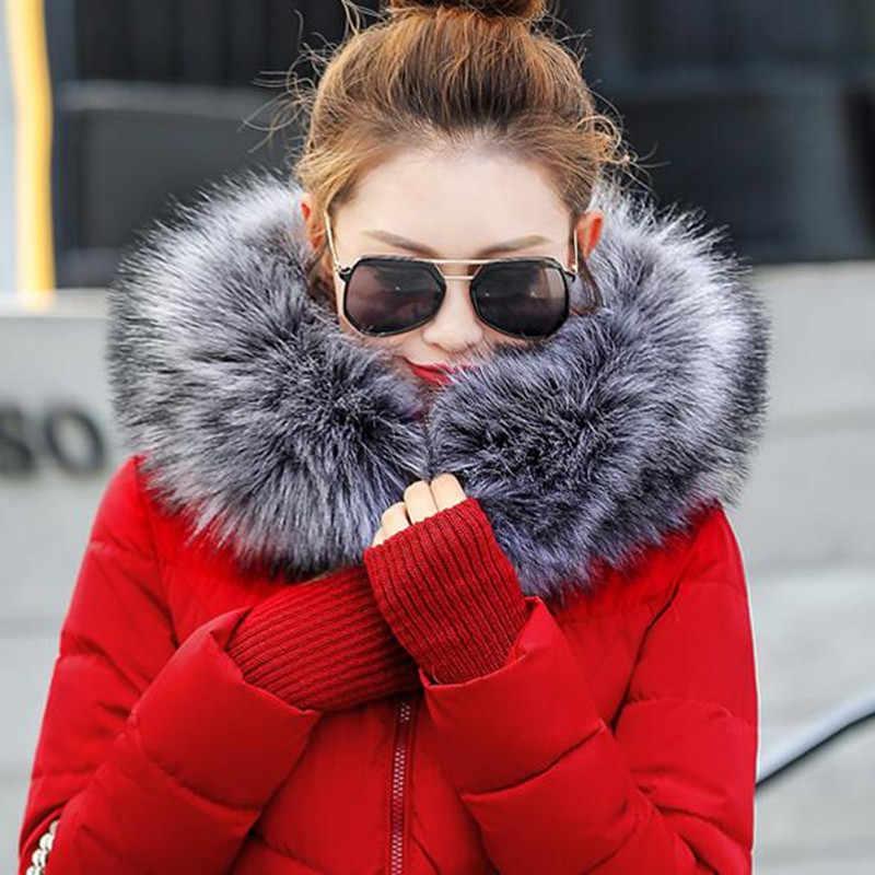 2019 Winter vrouwen Faux Fur Cape Sjaal Winter Warm Bontkraag mooie Accessoires Shawl Winter Geschenken Faux Vos Bont nieuwe