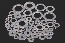100PCs Nylon Gasket M3/M3.5/M4/M5/M6/M8/M10/M12/M14/M16/M18/M20 Insulated Flat Mat Washer Gasket Thickness 1mm For RC Model DIY