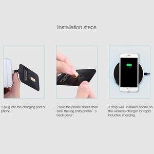 Image 5 - Pour iphone 6 S/7/7plus meizu oneplus Nillkin universel Qi chargeur sans fil récepteur chargeur adaptateur récepteur Micro interface USB