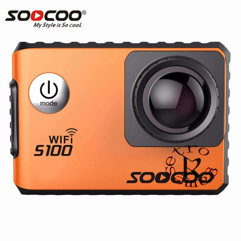 SOOCOO S100 Action Camera 4K Wifi Built in Gyro GPS Extension Go Waterproof Pro Mini Cameras Diving Outdoor Mini Sports DV - 3