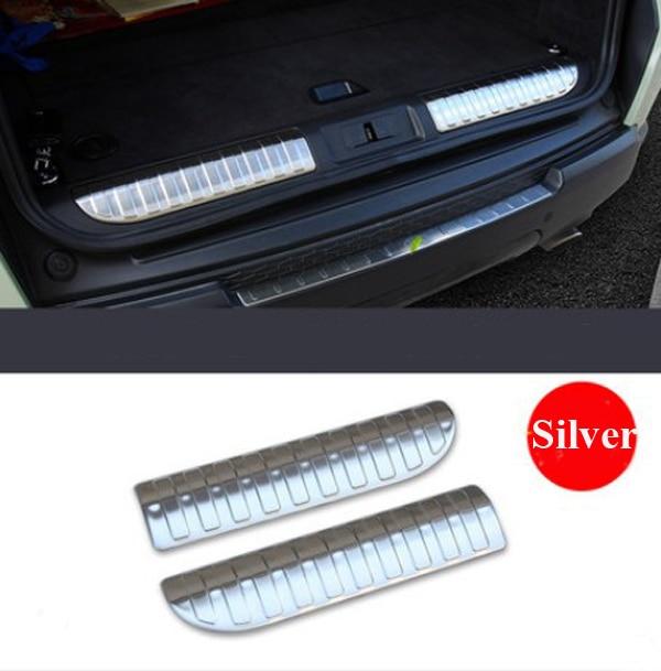 Paslanmayan Polad Avtomobil Arxalı Qapı eşik bumper Qoruyucu Sill - Avtomobil daxili aksesuarları - Fotoqrafiya 1