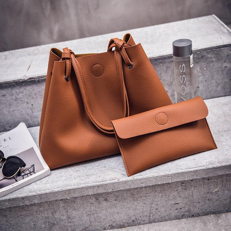 DALFR PU Leather Handbag Women Ladies Bolsas Shoulder Bag for Women Luxury Handbags Women Bags Designer