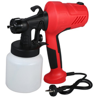 220V Electric Paint Sprayer Tool Airless Painting Compressor Machine Adjustable Flow Control For Cars Furniture Woodworking Eu