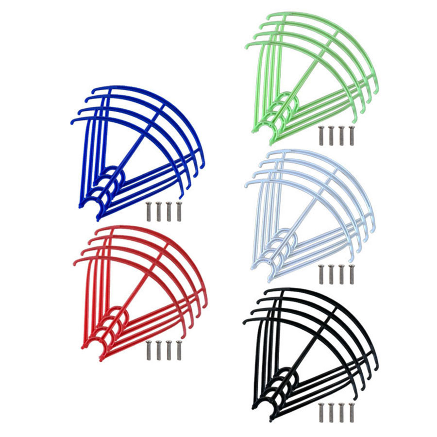 4Pcs/Set Syma RC Quadcopter Blades Protection Frame Guard Spare PartsFor X5 X5C X5S X5SC X5SW Propeller Protectors (China)