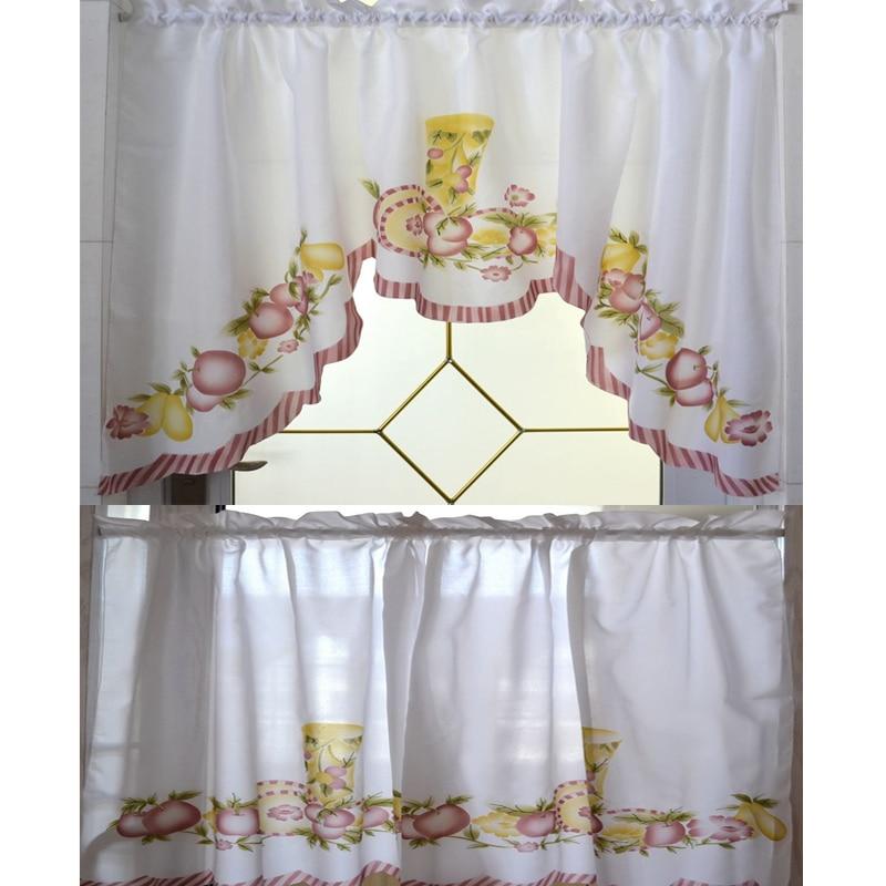 Kitchen Curtain Sets Stunning Best D Scenery Blackout