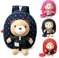 Hot sale new 1-3 years old Baby Keeper Toddler Walking Safety Harnesses Bear Backpack Strap Bag  Anti Lost Children Harnesses &