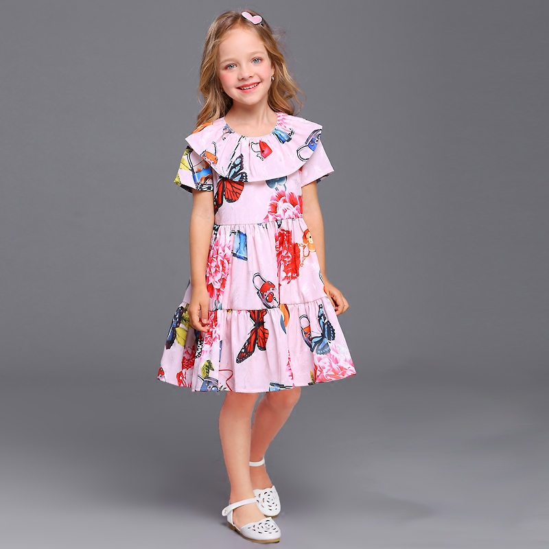 Summer family matching clothes kids sister look clothing baby girl women holiday dress mini me mother and daughter beach dresses 2017 summer children clothing mother and daughter clothes xl xxl lady women infant kids mom girls family matching casual pajamas
