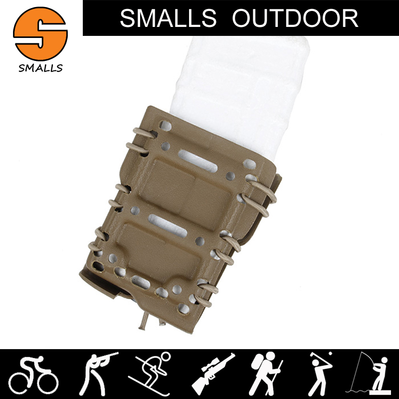 military airsoft tactical pistol holster ar15 gun accessories 5.56 magazine pouch single mag pouch for hunting belt waist system ...