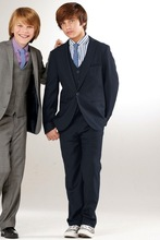 Fashion Children suits for party occasion customized boy suits set (Jacket+Pants+Shirt+vest+ tie) ZB296 boys blazer