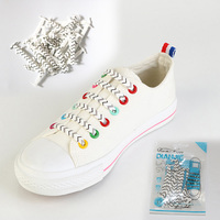 Hot Sale No Tie Shoe Laces New Design Silicone Shoelaces Lock Bands For Adult Sizes Easy