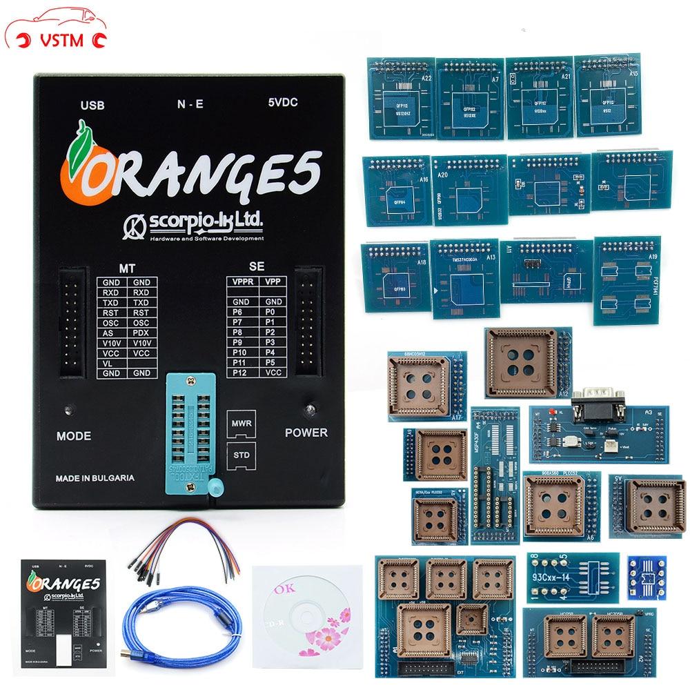 OEM Orange 5 Programmer OEM Orange5 With Full Adapter Orange5 Programmer High Quality Orange 5