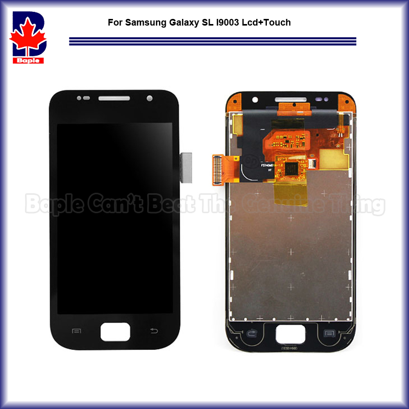 ФОТО Replacement Parts For Samsung Galaxy SL i9003 New LCD Display Panel Screen+Digitizer Touch Sreen Glass Assembly Free Shipping
