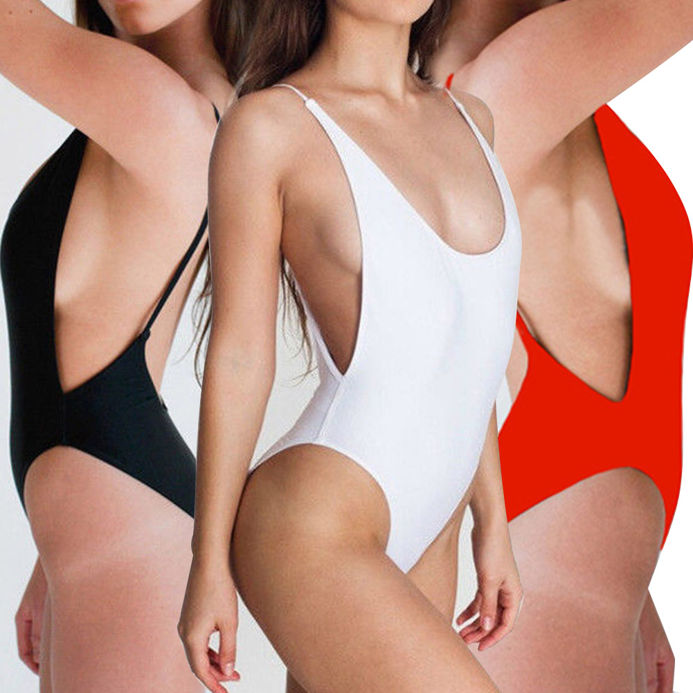 Sexy One Piece Swimsuit Backless Swimming Suit for Women Swimwear Bathing Suit Monokini Beach Wear maillot de bain femme 3 Color sbart women long sleeve rashguard one piece swimsuit shirt brief swimwear vintage bathing suit summer beach wear padded swimming