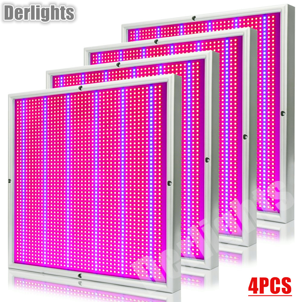 4pcs/Lot LED Grow Light 200W Full Spectrum Plant Lamp For Indoor Greenhouse Tent Plant Flowering Growing High Yield Wholesale 5 5 x 2cm lcd multifunctional intelligent digital 4 x aa aaa batteries charger black us plug