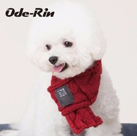 Ode Rin Goods For Pets Pet Supplies And More Lovely Scarf Warm Dog Wool Scarf Pet