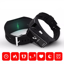 Оригинальный jakcom B3 Смарт часы 2 в 1 Bluetooth Smart Браслет + гарнитура Bluetooth браслеты для Android/IOS смартфоны
