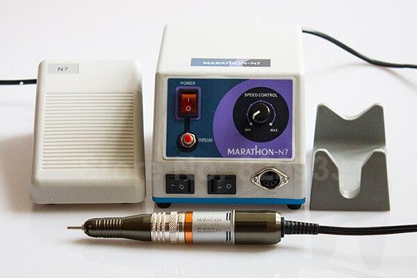 Nuevo N7 Micromotor + MARATHON SDE-H20 Juego de piezas de mano con - Arte de uñas - foto 5