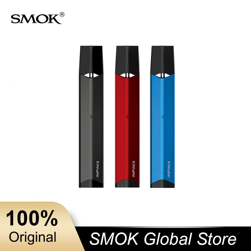 3pcs lot SMOK Pod SMOK Infinix Vape Pen With 250mAh Built in Battery 2ml Capacity Pod