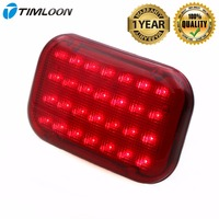 Newest Red LED Magnetic Emergency Light Traffic Safety Warning Flashing Light With 28 Diodes Powerful Magnet