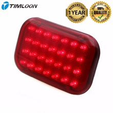 купить Newest Red LED Magnetic Emergency Light Traffic Safety Warning Flashing Light with 28-Diodes,Powerful Magnet,Three Files Dimming дешево