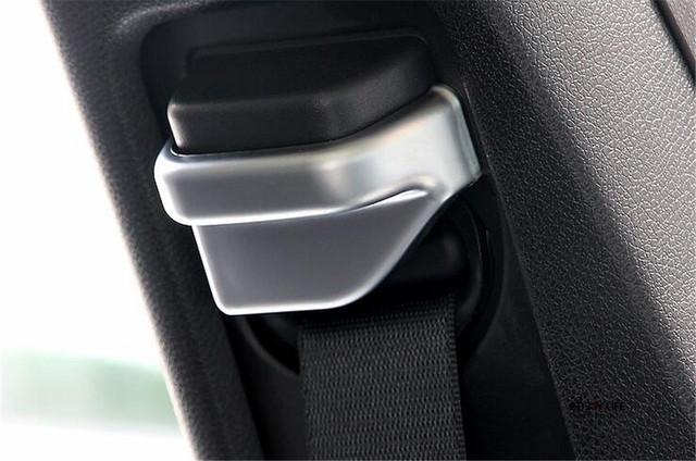 Assento de Segurança Belt Buckle Cap Tampa Guarnição da porta Para Mercedes GLA X156 2014 2015