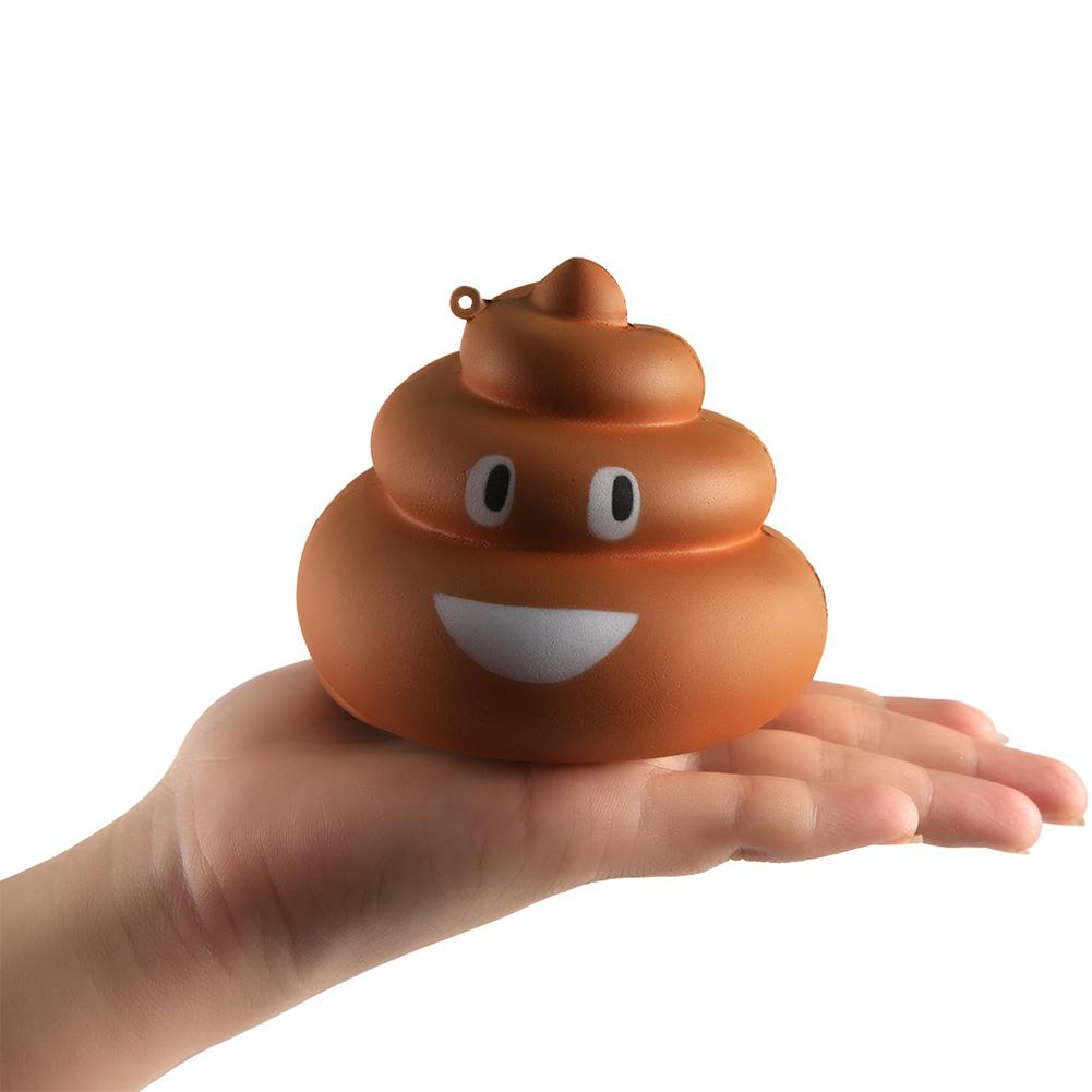 Funny Squishy Simulate Poop Squeeze Toy Stress Reliever Gag Prank Toy For Kid Gift