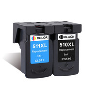 Ink Cartridge PG510XL 510 XL CL511XL 511 XL Compatible For Canon PIXMA MP250 MP230 MP240 MP270 MP272 Printer Cartridges Inkjet