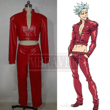 The Seven Deadly Sins Ban Cosplay Fox's Sin of Greed Costume Custom Any Size