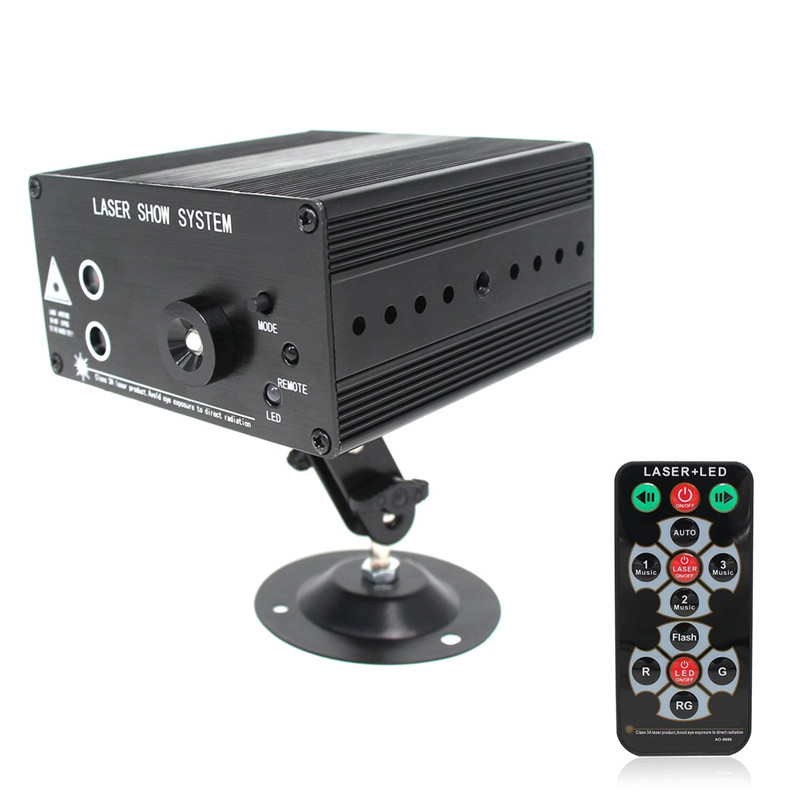 Cool Mini Led Rgb Home Stage Lighting Effect DMX Laser Projector With Remote Lumiere Disco Lights Dj Party Stage Light in Stage Lighting Effect from Lights Elegant - Beautiful lumiere lighting Top Design