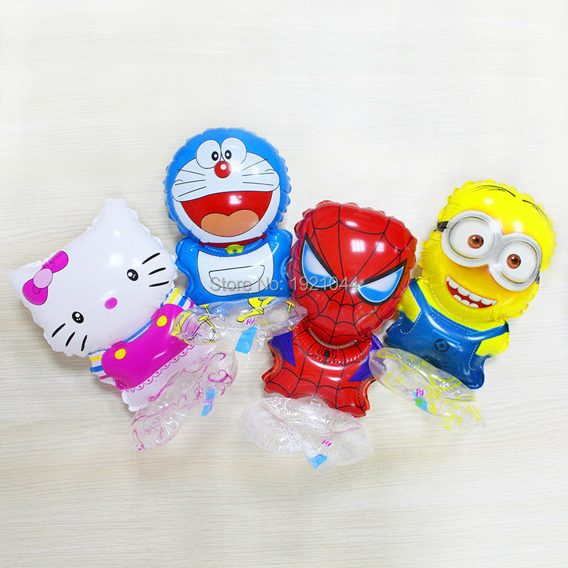 2017 Hot Sale Animal inflatable Wrist foil balloon colorful dots printing Birthday For Wedding Party Decoration Children Gifts