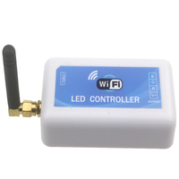 Dc12v 24v WiFi Rgb Controller 12a 3ch Rgb Led Controller By Android And Ios App For