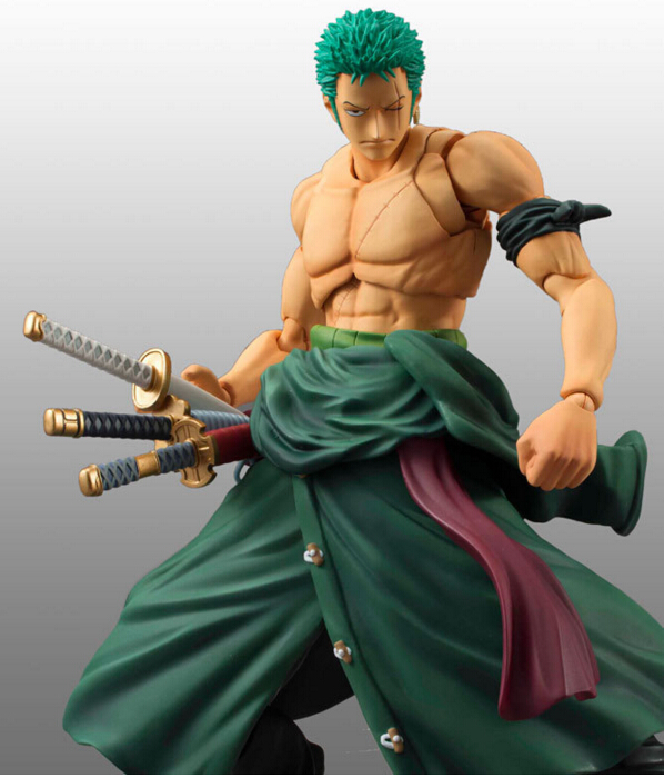 One Piece Zoro Figure SHF PVC 180mm One Piece Action Figures S.H.Figuarts Anime Toys Roronoa Zoro Model Onepiece-Action-Figures one piece zoro 1 8 scale painted figure fighting ver roronoa zoro doll pvc action figures collectible model toys 19cm kt3359