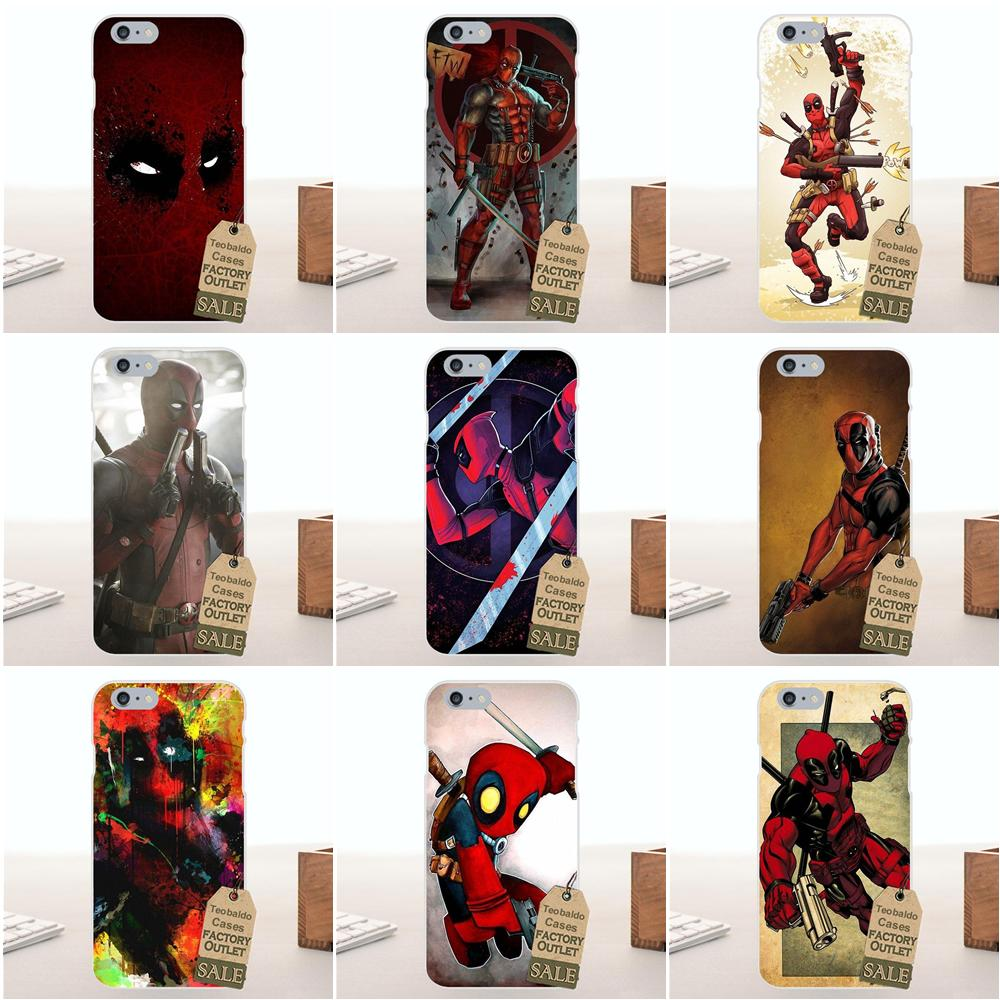 Movie Knife Deadpool Hero For Galaxy Alpha Core Prime Note 2 3 4 5 S3 S4 S5 S6 S7 S8 mini edge Plus Soft TPU Phone Cases Covers image