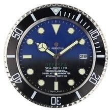 Роскошные дизайнерские настенные часы металлические художественные часы Relogio De Parede Horloge Decorativo с соответствующим логотипом