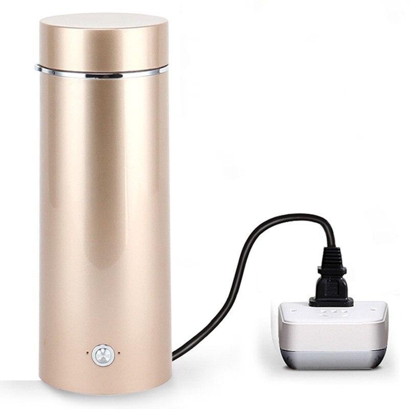Przenośny czajnik mini mini podróży czajnik elektryczny, automatyczne ogrzewanie kubek, gospodarstwa domowego plug w jednostce w Czajniki elektryczne od AGD na  Grupa 1