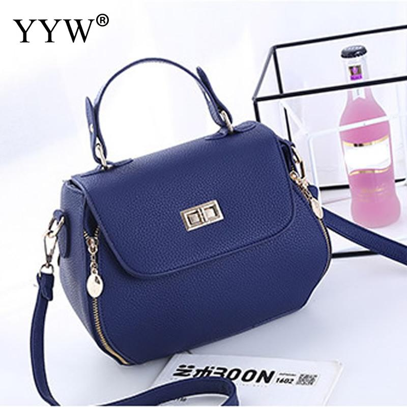 Vintage Blue Leather Ladies Handbags Women Messenger Bags Totes tassel Designer Crossbody Shoulder Bag Boston Hand Bags Hot Sale