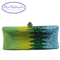 Luxury Flower Crystal Clutches And Evening Bags For Womens Party Bridal Wedding Evening Prom And Matching