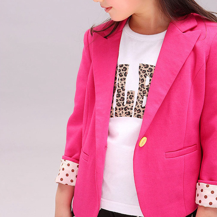 2019 Sping Kids Suits Jacket for Girls Children Brand Coat Trench Girl  Blazers Kids Clothing 2 Colors-in Jackets   Coats from Mother   Kids on ... 900f976b2980
