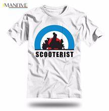 SCOOTERIST Unisex T-Shirt - Summer is coming! vespa lambretta mod hoodie hip hop t-shirt все цены