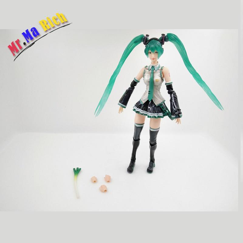 Japan Anime Action Figure Vocaloid Hatsune Miku Kai Variant Piay Arts Ver 25cm Pvc Model Collection Sexy Girl Cute Doll все цены