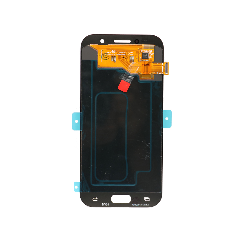 Image 4 - Original 5.2 Super AMOLED LCD for SAMSUNG Galaxy A5 2017 Display  Touch Screen Digitizer A520 A520F SM A520F Replacement PartsMobile  Phone LCD Screens