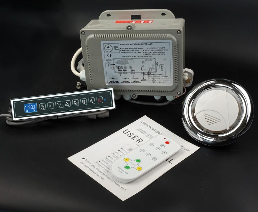 massage bathtub control system whirlpool controller lkeypad 220V opetion GD 7001B
