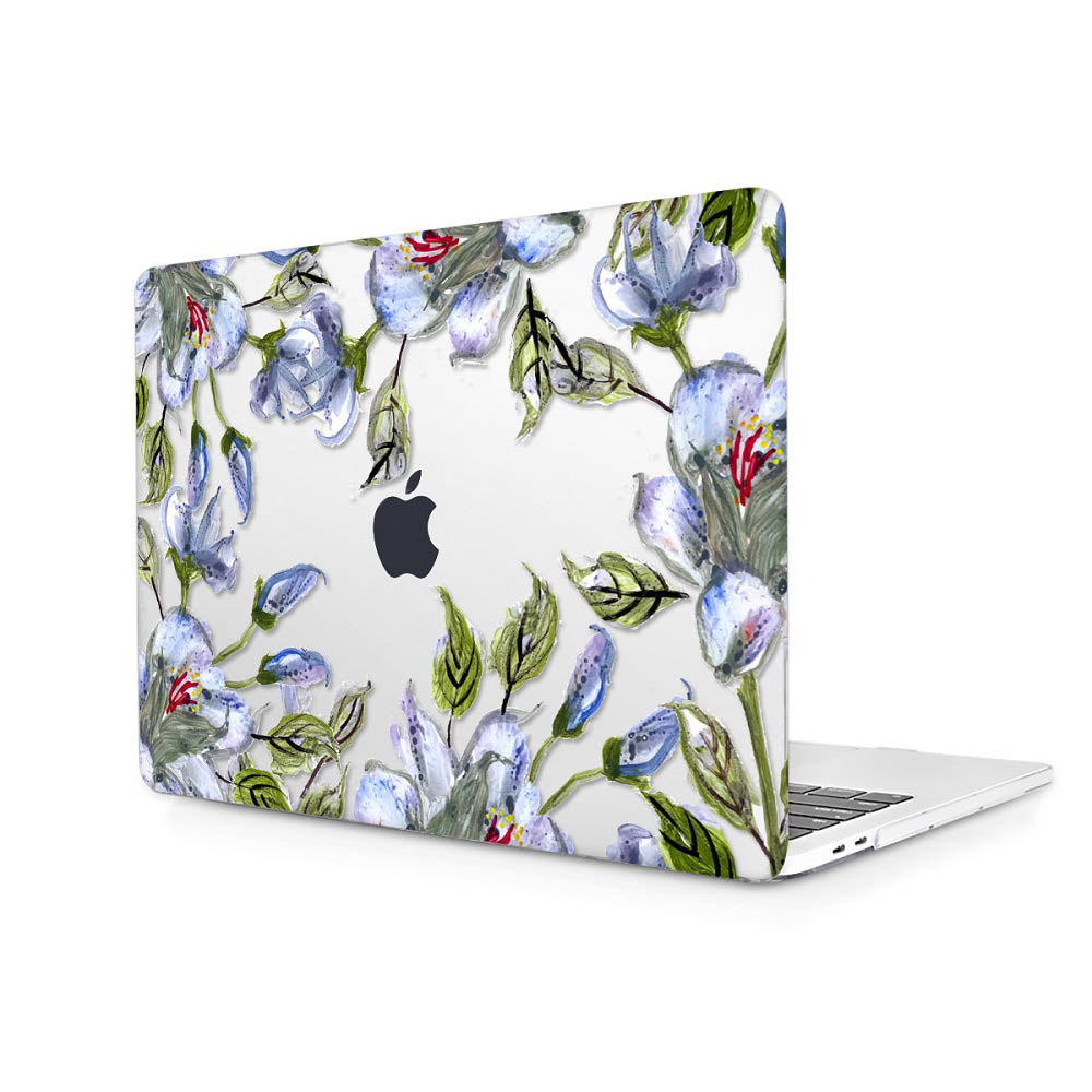 Floral Printing Hard Case for MacBook 131