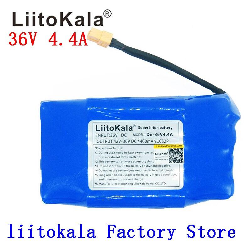NOVA 36 V célula de iões de lítio recarregável li-ion battery pack 4400 mah 4.4AH para equilíbrio auto scooter elétrico monociclo hoverboard