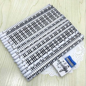 Image 5 - Musical Note Pencil 2B Standard Round Pencil Music Stationery Piano Notes School Student Gift Prize 36pc Pencil+Eraser+Sharpener